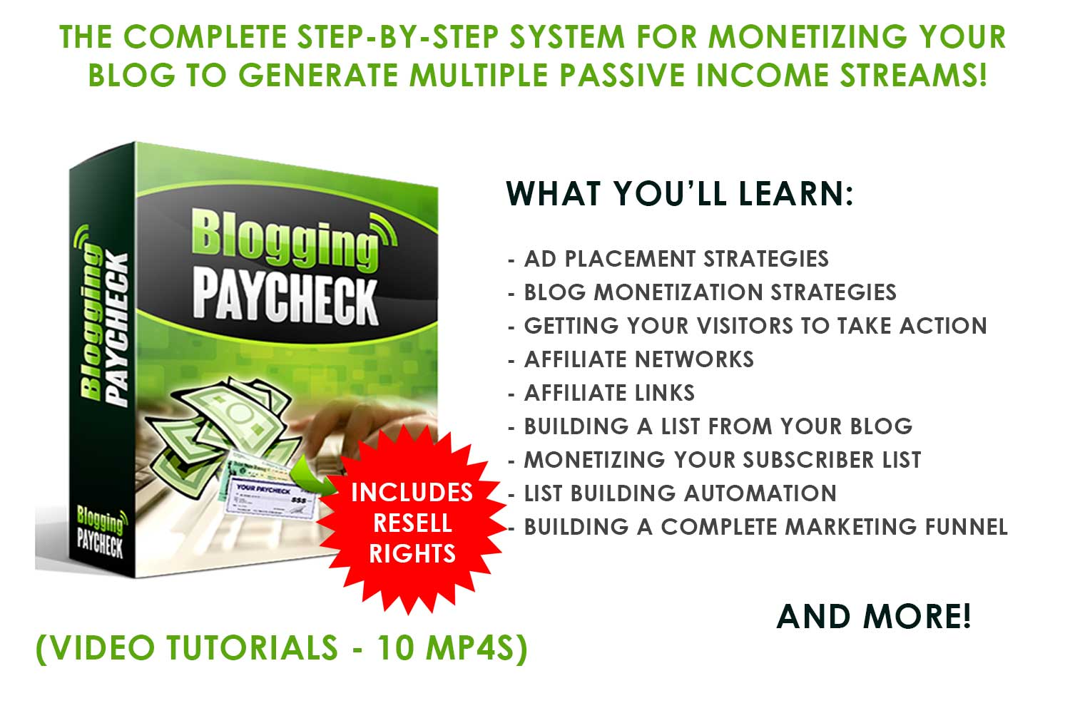 2)-Blogging-PayCheck---10-MP4s-(Includes-Resell-Rights)